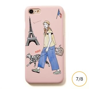 [ファッジ×モトグラフ]FUDGE×motograph PARIS for iPhone  8/7