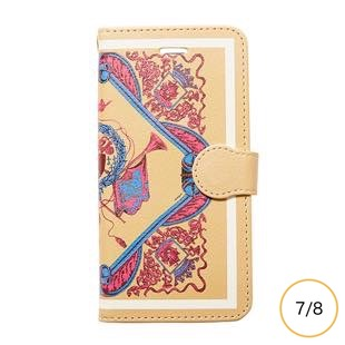 [マニプリケースコレクション]manipuri case collection crest masterd diary for iPhone 8/7