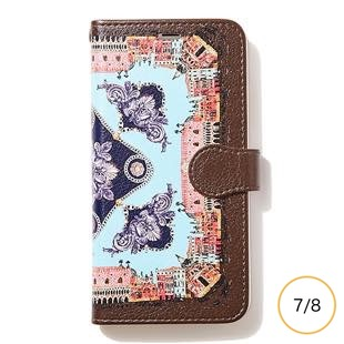 [マニプリケースコレクション]manipuri case collection CITY-CHARCOL diary for iPhone 8/7