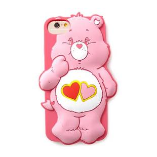 MERRY GADGET CareBears SILICONE LOVE A LOT for iPhone 7/6s/6