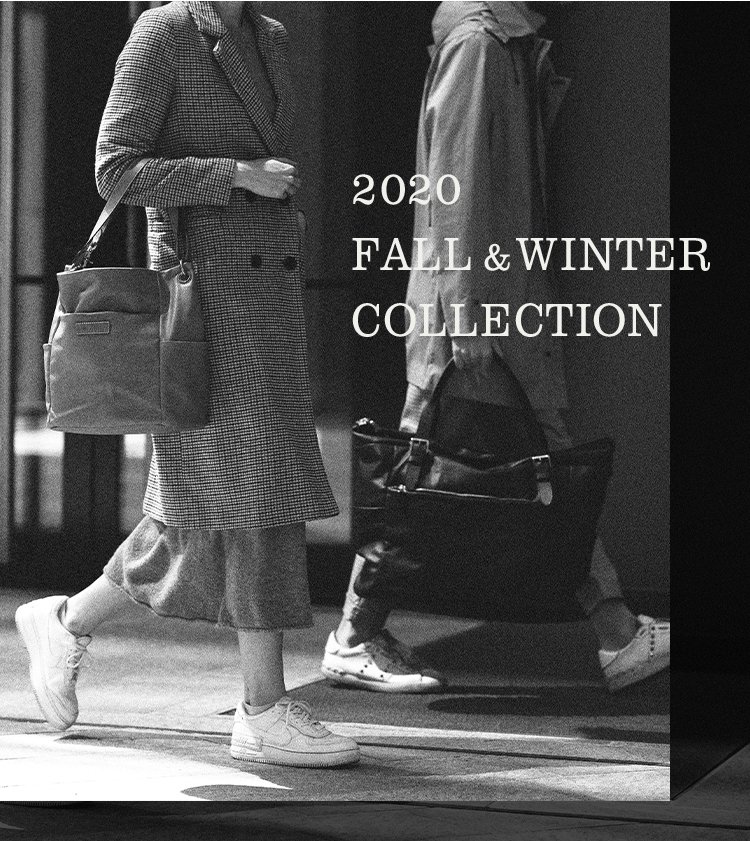 2020 FALL&WINTER COLLECTION メインビジュアル