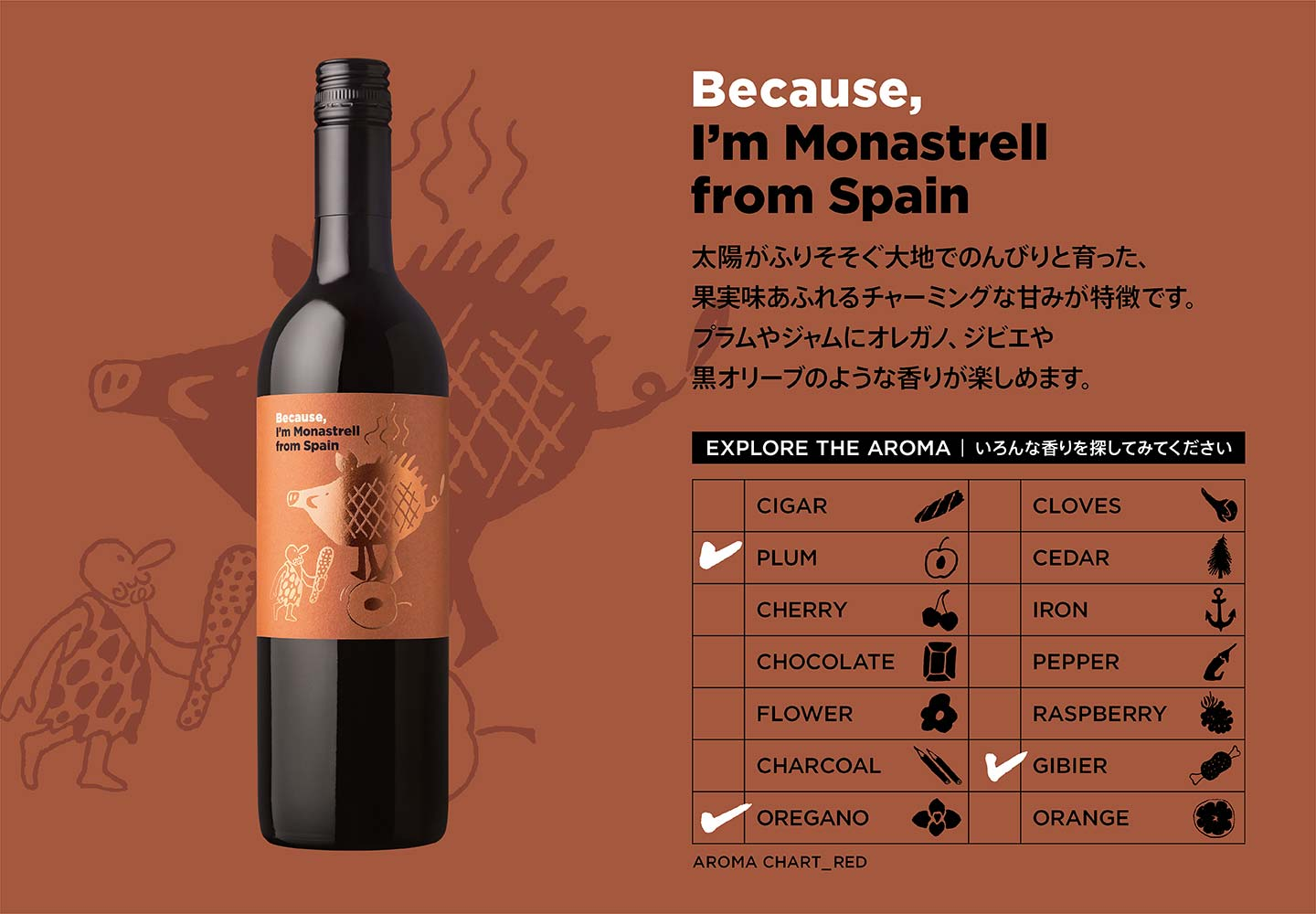 Because, I'm Monastrell from Spain