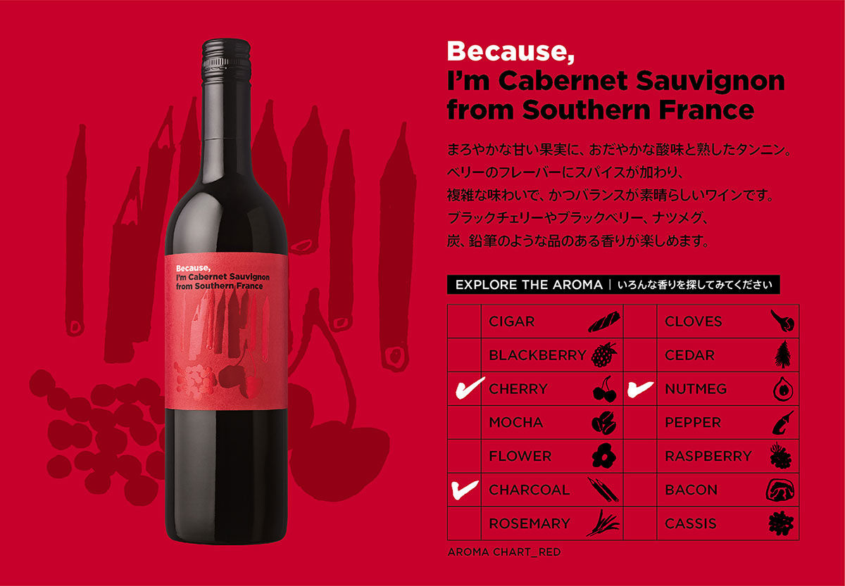 Because, I'm Cabernet Sauvignon from Southern France