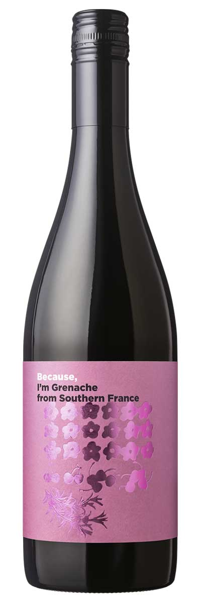 Because, I'm Grenache from Southern France(南仏産赤750ml)