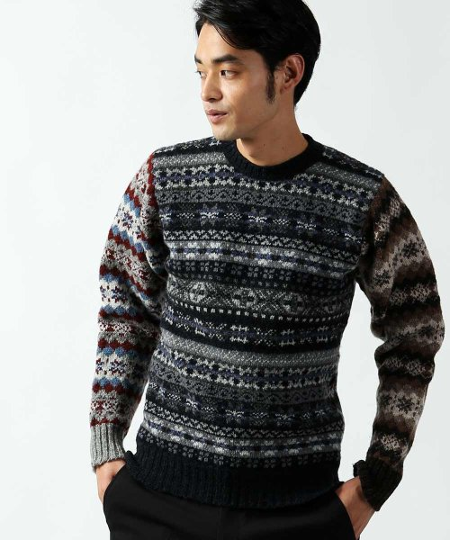 Freak's Store x Jamieson's Crazy Fair Isle Sweater 13010900020: Crazy
