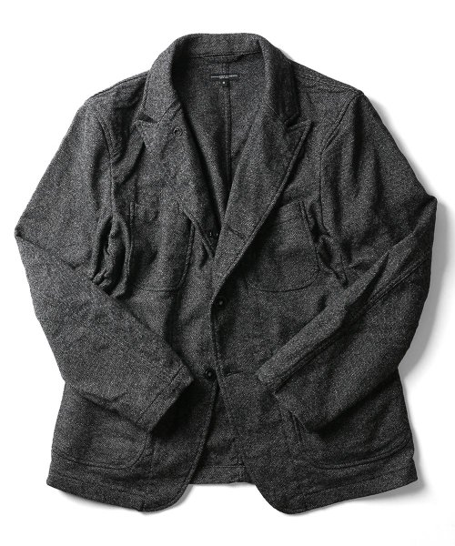 Bedford Jacket - Wool Homespun DE243