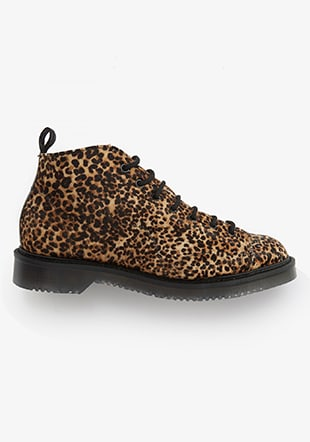 George Cox Monkey Boot Minipard Printed Leather