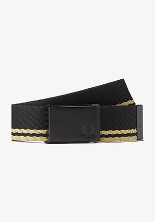 Tipped Webbing Belt
