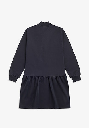 Tricot Bomber Dress