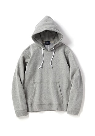 Fleece Back Hooded Sweat