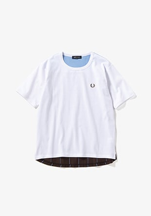 Back Stripe Ringer T-Shirt