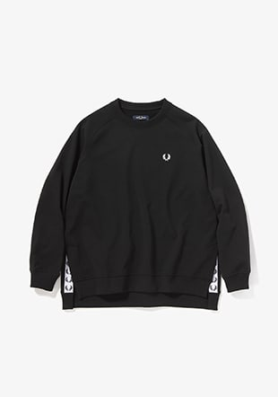 Taped Crew Neck Sweatshirt