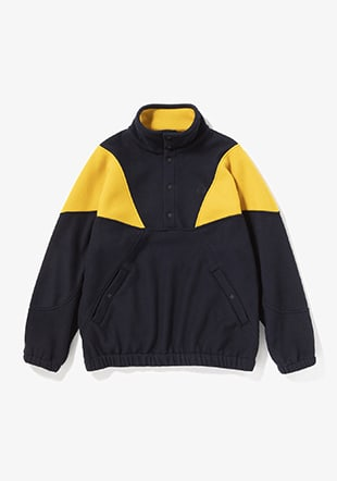 Fleece Pullover Jacket
