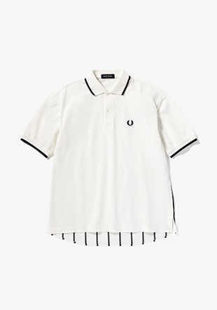 Panelled Polo Shirt