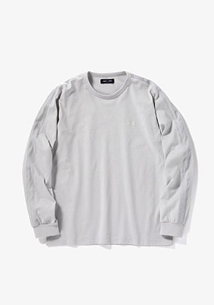 Velour Taped L/S Ringer T-Shirt