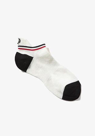 Tipped Rib Ankle Socks