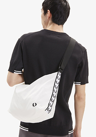Taped Shoulder Bag