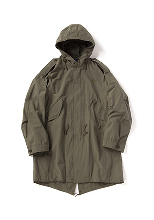 Laurel Leaf Dyed Fishtail Parka