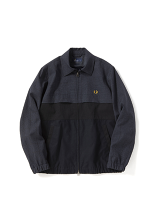 Mix Parts Caban Jacket
