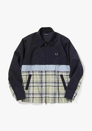 Panelled Caban Jacket