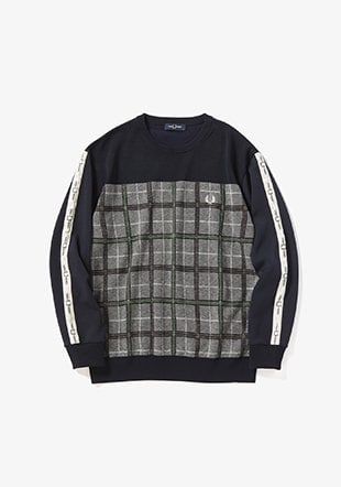 Sports Culture Crew Neck Knit Sweater