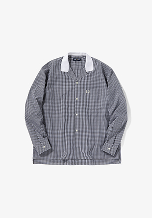 Gingham Revere Collar Shirt