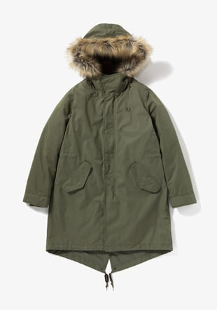 Women Fishtail Parka
