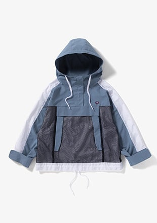 Hooded Panel Jacket