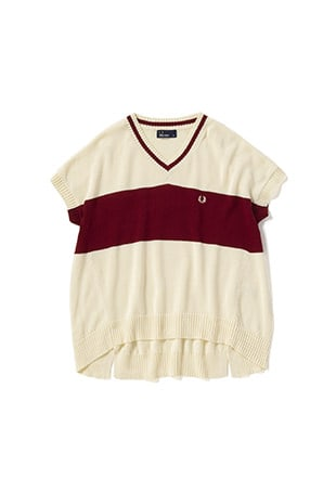 A Line Short Sleeve Sweater