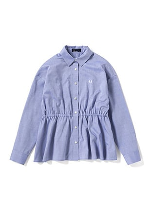 Back Pleated Shirt