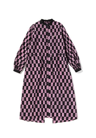 Akane Utsunomiya Print Shirt Dress