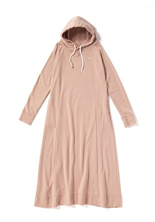 Sweat Parka Dress