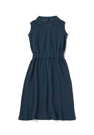 Sleeveless Pique Dress