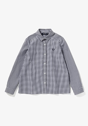 2 Colours Gingham Shirt