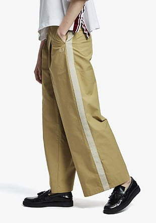 Side Taped Trousers