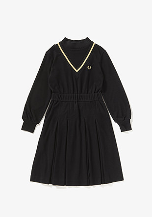 Mock Neck Tennis Dress