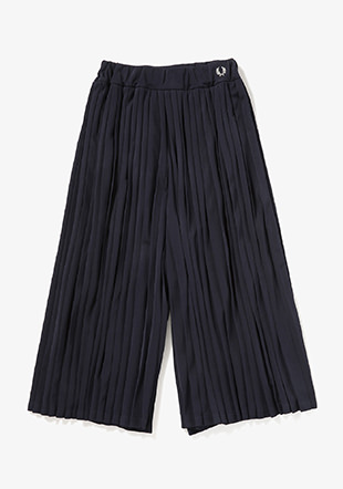 Pleated Tricot Track Pants