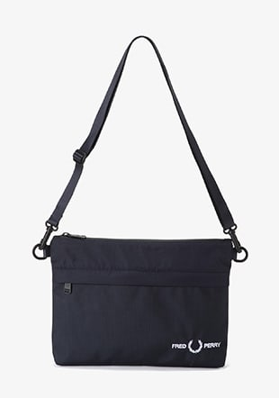 Textured Sacoche Bag