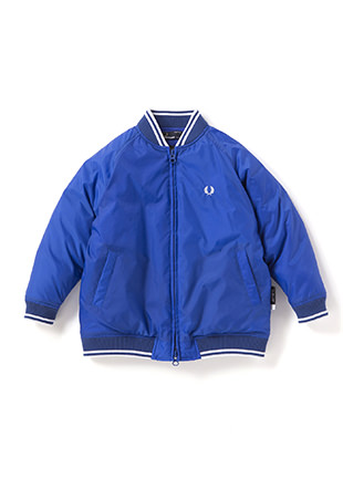 Kids Down Bomber Neck Jacket