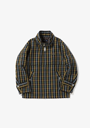 Kids Textured Harrington Jacket