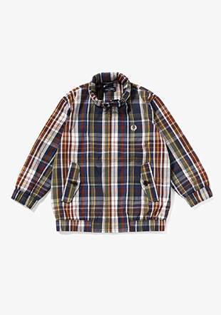 Kids Shirt Harrington Jacket