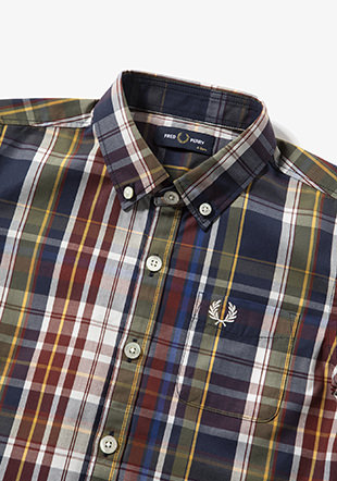 Kids Madras Check Shirt