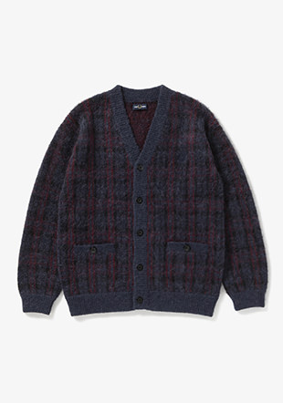 Jq V-Neck Cardigan
