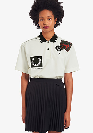 Graphic Polo Shirt