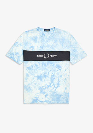 Tie-Dye Embroidery T-Shirt