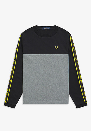 Long Sleeve Taped T-Shirt