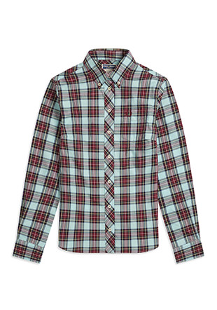 Reissues L / S Button Down Tartan Shirt