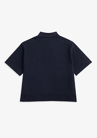 Boxy Polo Shirt