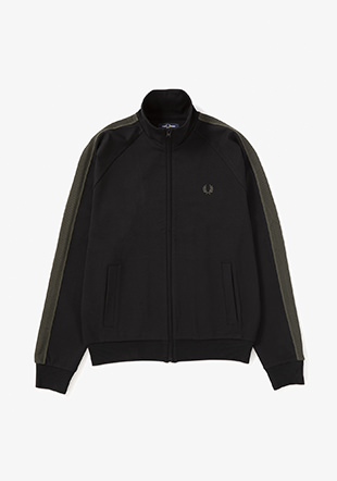 Contrast Tape Track Jacket