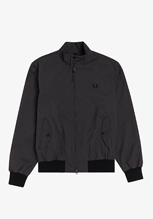 Marl Texture Harrington Jacket